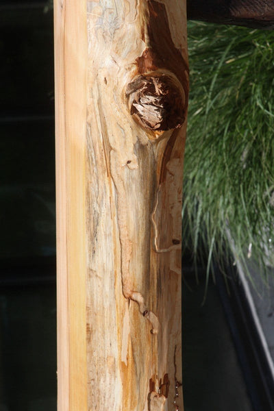 Rustic Wormy Incense Cedar Mantel
