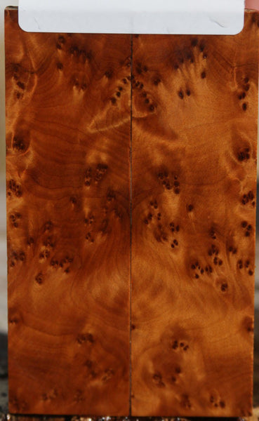 Thuya Burl Knife Scales