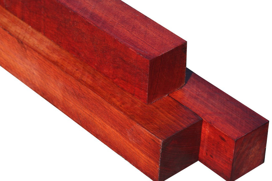 "Bloodwood Turning Squares (21"" x 1"" x 1"")"