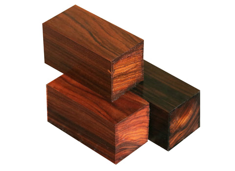 "Bolivian Rosewood Bottle Stopper (3"" x 1-1/2"" x 1-1/2"")"