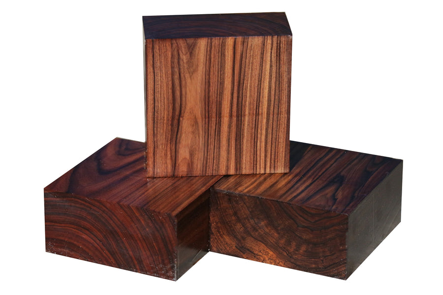 "Bolivian Rosewood Bowl Blank (6"" x 6"" x 3"")"