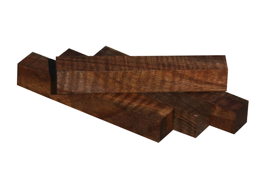 Figured Claro Walnut Pen Blank - 3/4""