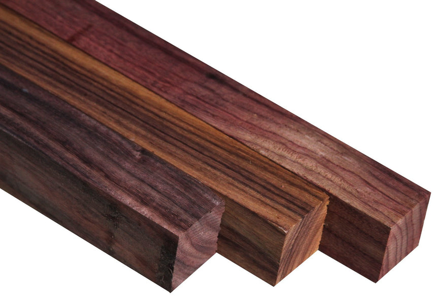 "East Indian Rosewood Turning Square (12"" x 2"" x 2"")"