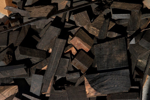 Fiddleback Striped Gabon Ebony