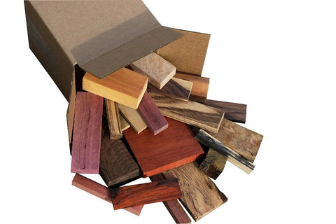 Exotic Hardwood Cut Offs