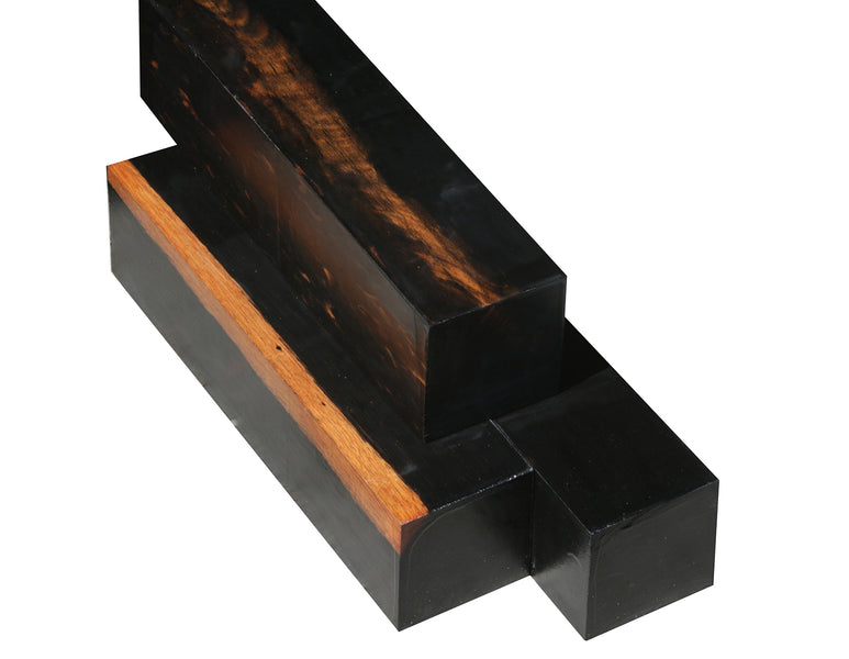 "Gabon Ebony Turning Square (11-7/8"" x 2-3/4"" x 2-3/4"")"