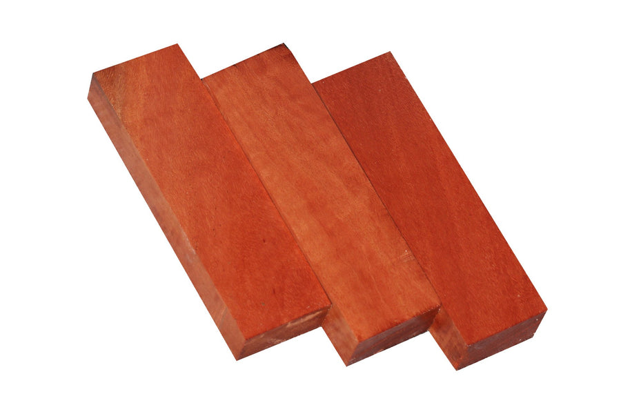 "Red Gum Craft/Knife Blank (5"" x 1-1/2"" x 1"")"