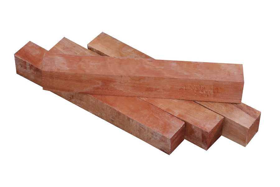 Figured Red Gum Pen Blank - 3/4""