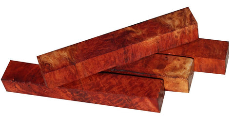 Red Mallee Burl Pen Blank - 3/4""