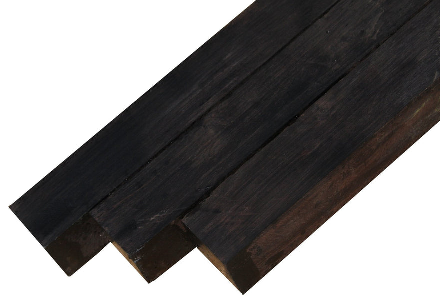 "African Blackwood Turning Squares (7-1/2"" x 1-1/2"" x 1-1/2)"