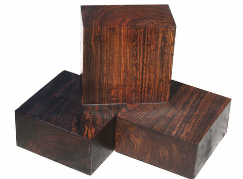 Bocote Bowl Blanks (6 x 6 x 3)