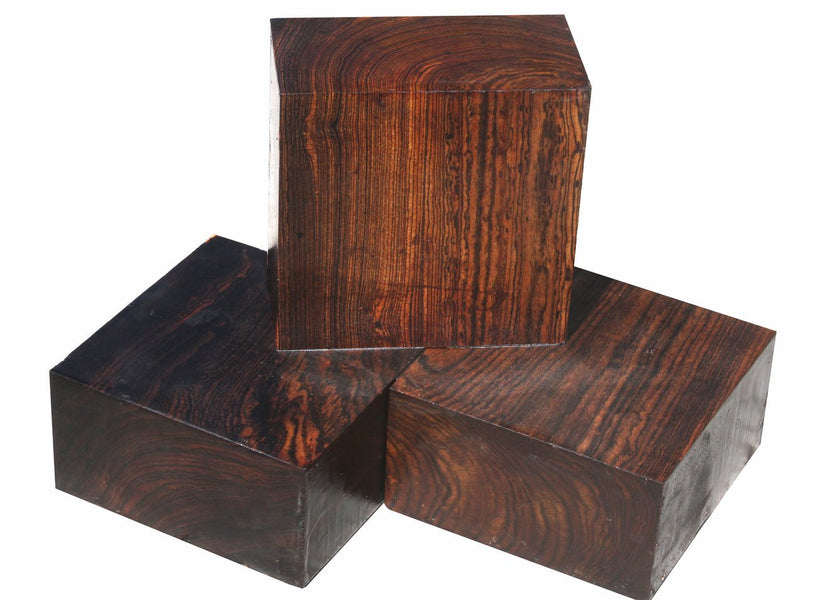 "Bocote Bowl Blanks (6"" x 6"" x 3"")"