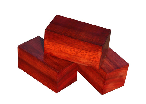 "Bloodwood Bottle Stopper (3"" x 1-1/2"" x 1-1/2"")"