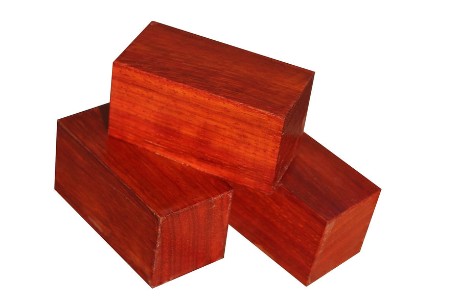 "Padauk Bottle Stopper (3"" x 1-1/2"" x 1-1/2"")"