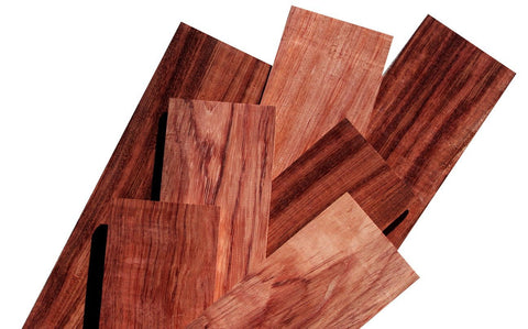 Figured Bubinga Lumber