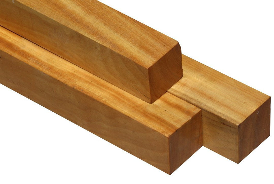 "Ceylon Satinwood Turning Square (18"" x 1-1/2"" x 1-1/2"")"
