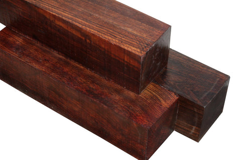 "Chechen / Caribbean Rosewood Turning Square (24"" x 1-1/2"" x 1-1/2"")"