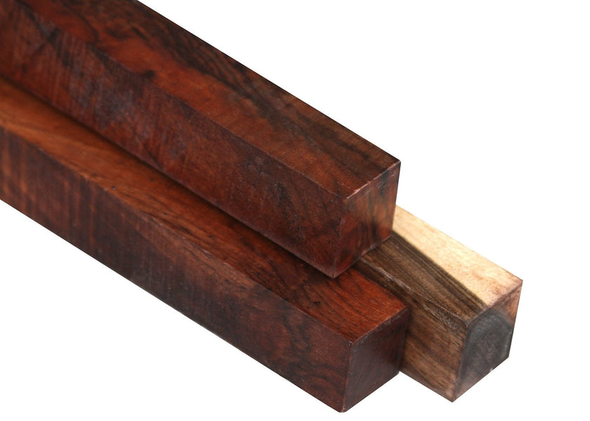 "Claro Walnut Turning Square  (12"" x 1-1/2"" x 1-1/2"")"