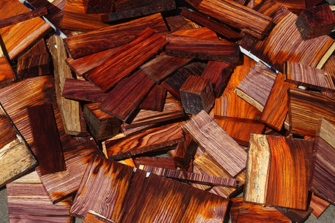 Cocobolo Cut Offs - Medium Box (MFRB)