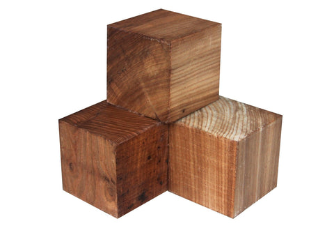 "Ceylon Satinwood Turning Square (24"" x 1-1/2"" x 1-1/2"")"