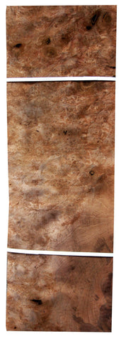 "English Walnut Burl Veneer Sheet (20"" x 8-1/2"" x 1/32"")"