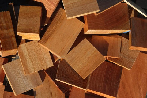 Spanish Cedar Cut Offs - Medium Box (MFRB)