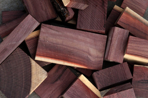 Mexican Royal Ebony (Katalox) Cut Offs - Medium Box (MFRB)