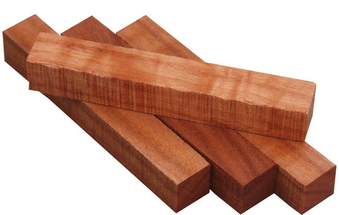 Bookmatched Figured African Mahogany Long Lumber