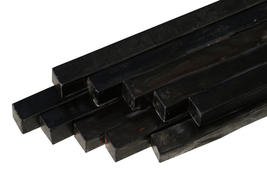 "Gabon Ebony Turning Square (18"" x 2"" x 2"")"
