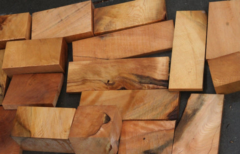 Port Orford Cedar Cut Offs - Medium Box (MFRB)