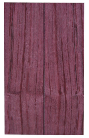 "Bookmatched Purpleheart Knife Scale (5"" x 1-1/2"" x 3/8"")"