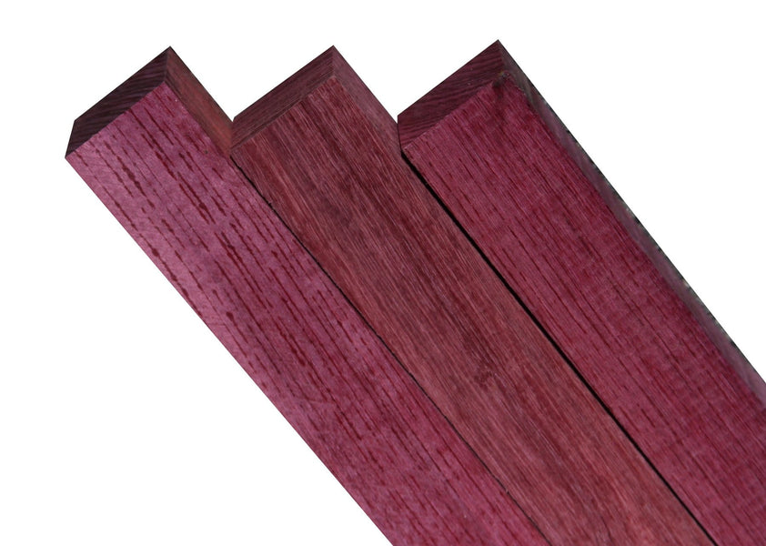 "Purpleheart Turning Square (12"" x 1-½"" x 1-½"")"