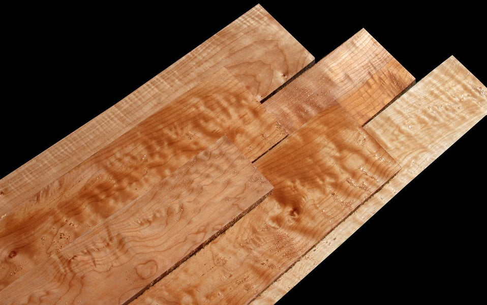Figured Maple (50 Board Foot Pack) - FREE SHIPPING!