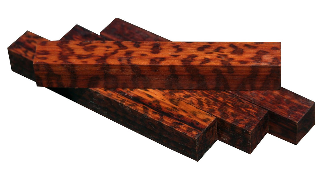 XF Figured Snakewood Pen Blank - 3/4""