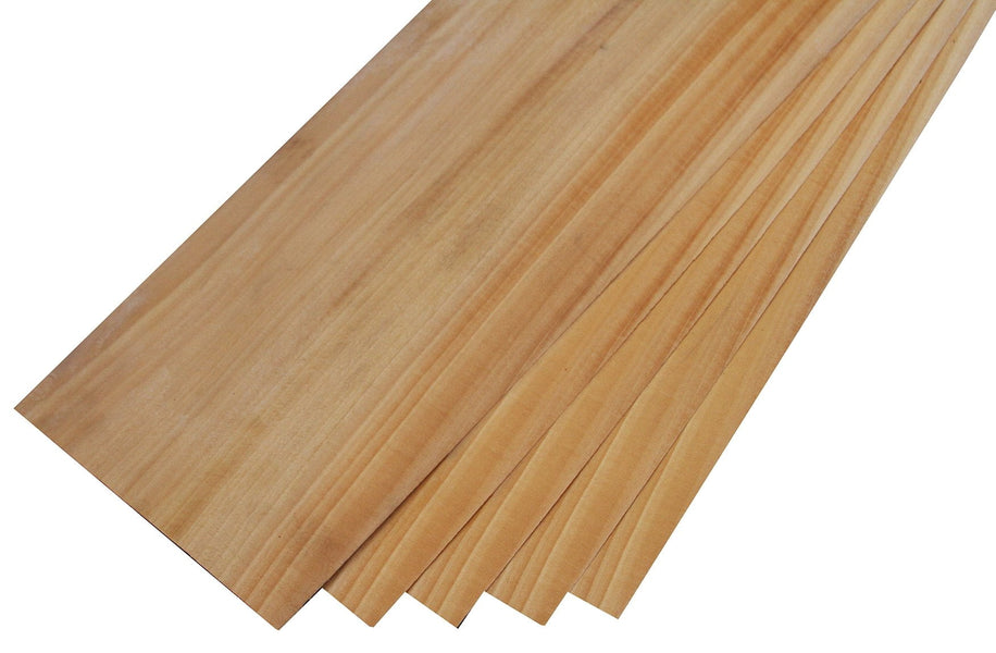 "Figured Ceylon Satinwood Veneer (24-1/2"" x 6-1/4"" x 1/32"")"