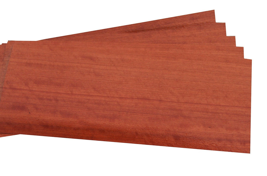 "Quartered Figured Makore Veneer Sheet (23-3/4"" x 11"")"