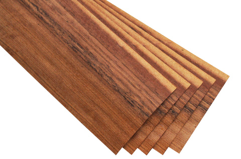"Mozambique Veneer Sheet (17-1/4"" x 7-1/4"")"