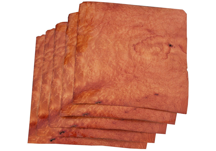 "XF Figured Madrone Burl Veneer Sheet (12"" x 10-1/2"")"