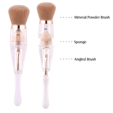 3 in 1 Complexion TRIO New Angled Brow Set