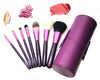 7 Professional Cone Case Brushes (PURPLE)