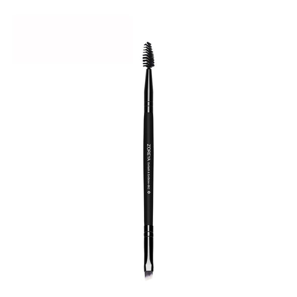 2 in 1 Eyebrow Brush + Eyelash Brush