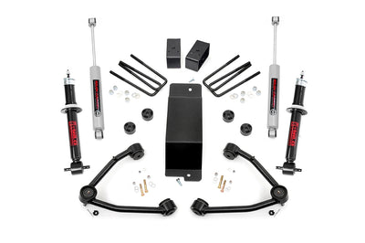 3.5-inch Suspension Lift Kit (Factory Cast Steel Control Arm Models)