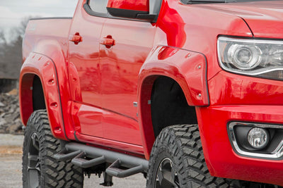 Pocket Fender Flares w/ Rivets (5-foot Bed Models)