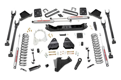 6-inch 4-Link Suspension Lift Kit (Diesel Engine Non-Overload Spring Models w/ 4-inch Rear Axles)