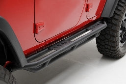 SRC Side Armor - Black Textured Jeep, 07-16 Wrangler (JK) - 4 Door