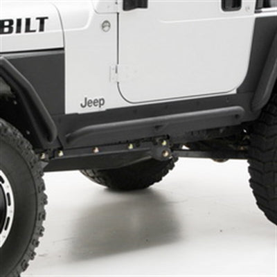 XRC Body Cladding - Black Textured Jeep, 07-16 Wrangler (JK) - 4 Door