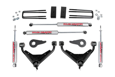 3-inch Bolt-On Suspension Lift Kit w/ Upper Control Arms