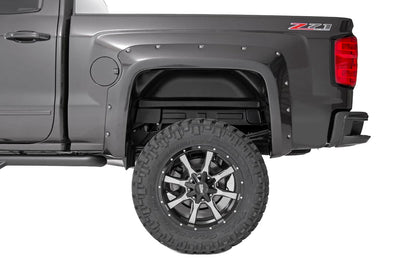 Pocket Fender Flares w/ Rivets (6.5-foot & 8-foot Bed Models)
