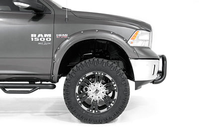 Pocket Fender Flares w/ Rivets (Metal Front Bumper Models)