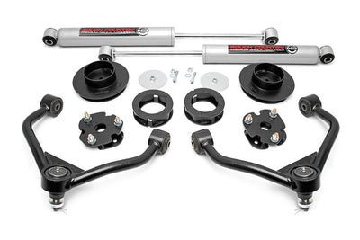 3.5-inch Bolt-On Suspension Lift Kit w/ Upper Control Arms